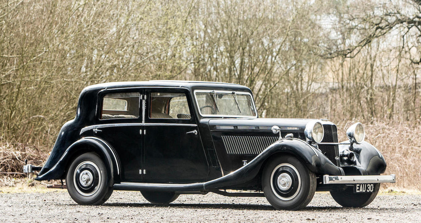 1937 Brough Superior 3½ litre Saloon