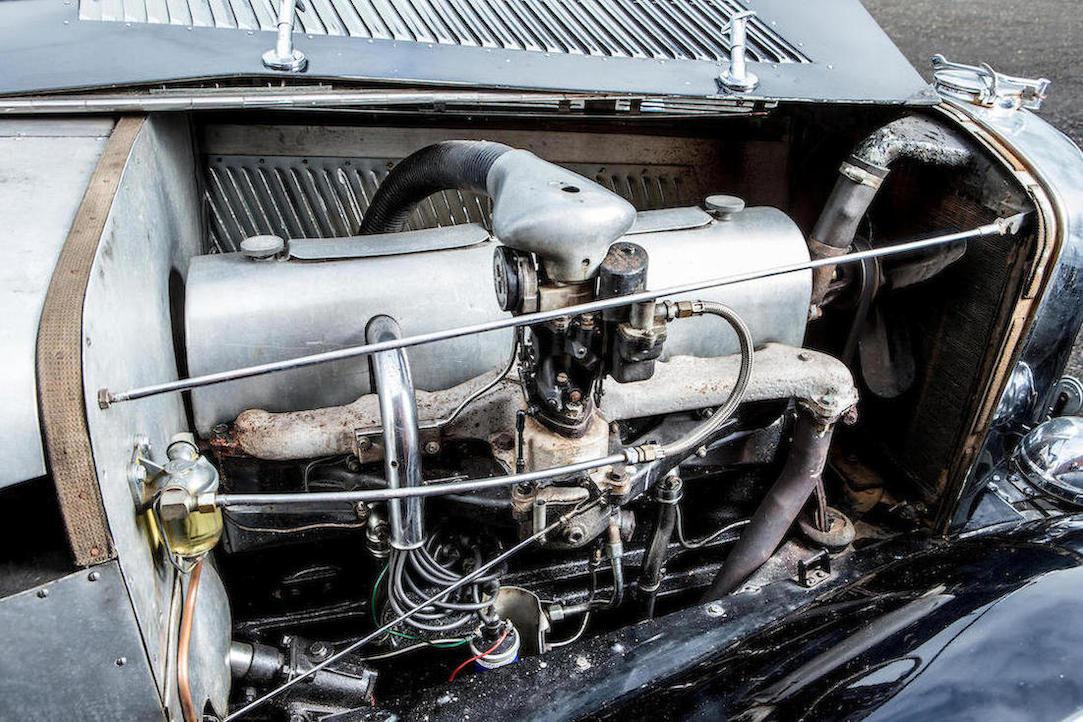 Brough Superior 4.2 liter straight eight engine aluminum cover