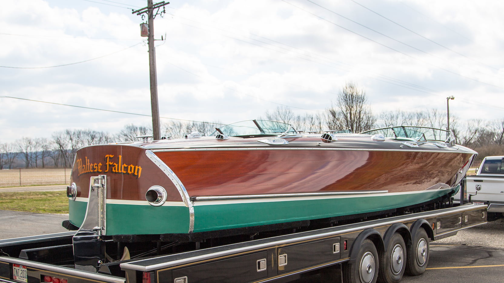 Greavette Custom trailer