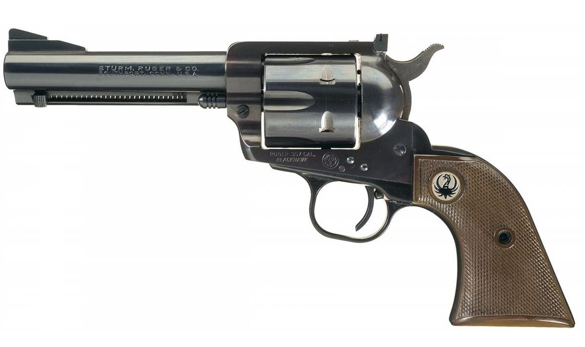 Ruger Blackhawk 1955 flattop 357 Magnum