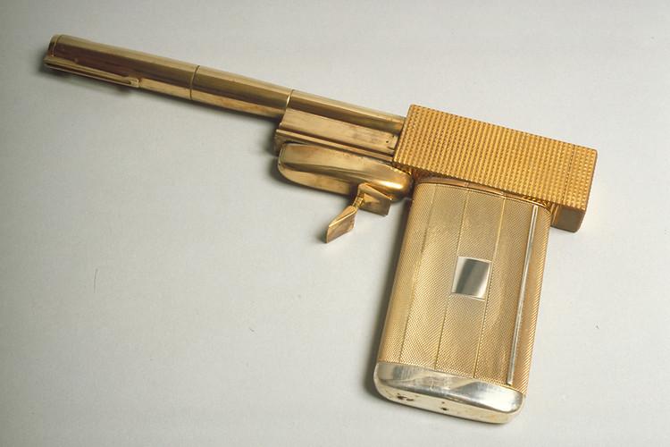 """Golden gun """"Man with the Golden Gun"""""""