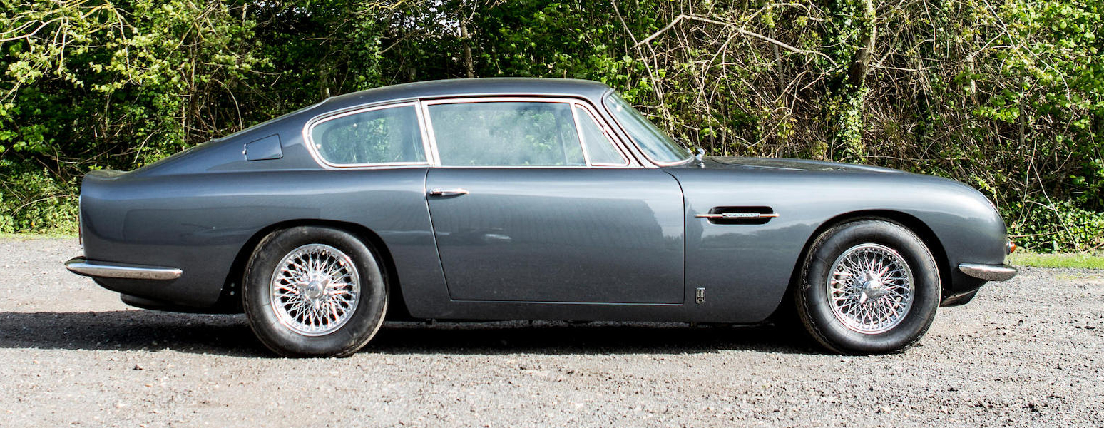 Aston Martin DB6 4.5 Liter Vantage Specification