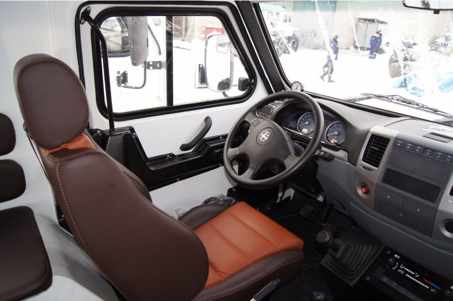 Trecol 6x6 amphibious 39294 all-terrain vehicle interior