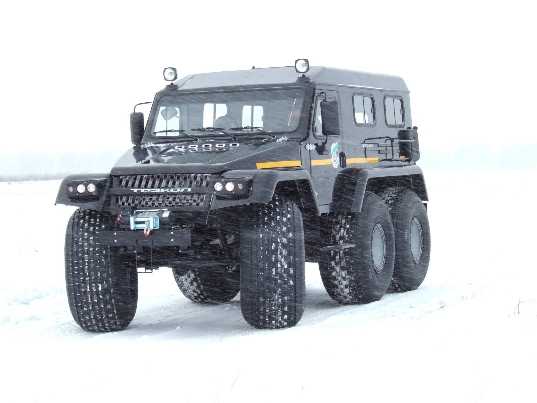 Trecol 6x6 amphibious 39294 all-terrain vehicle