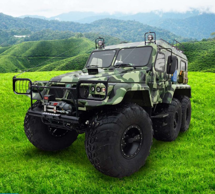 TRECOL 6x6 39294 all-terrain vehicle