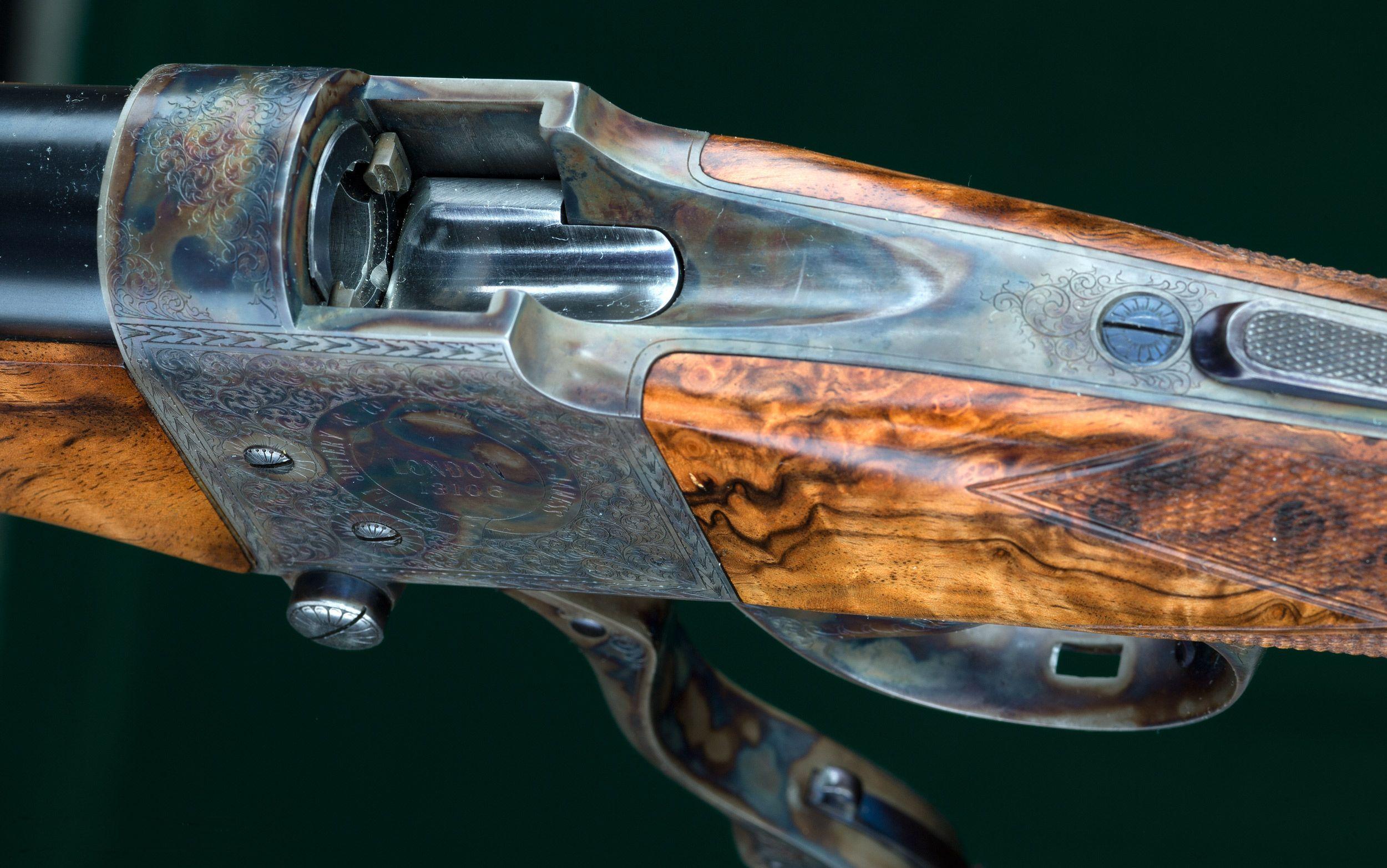 """W J Jeffrey Farquharson Falling Block Rifle 450/400 3"""" Nitro Express"""