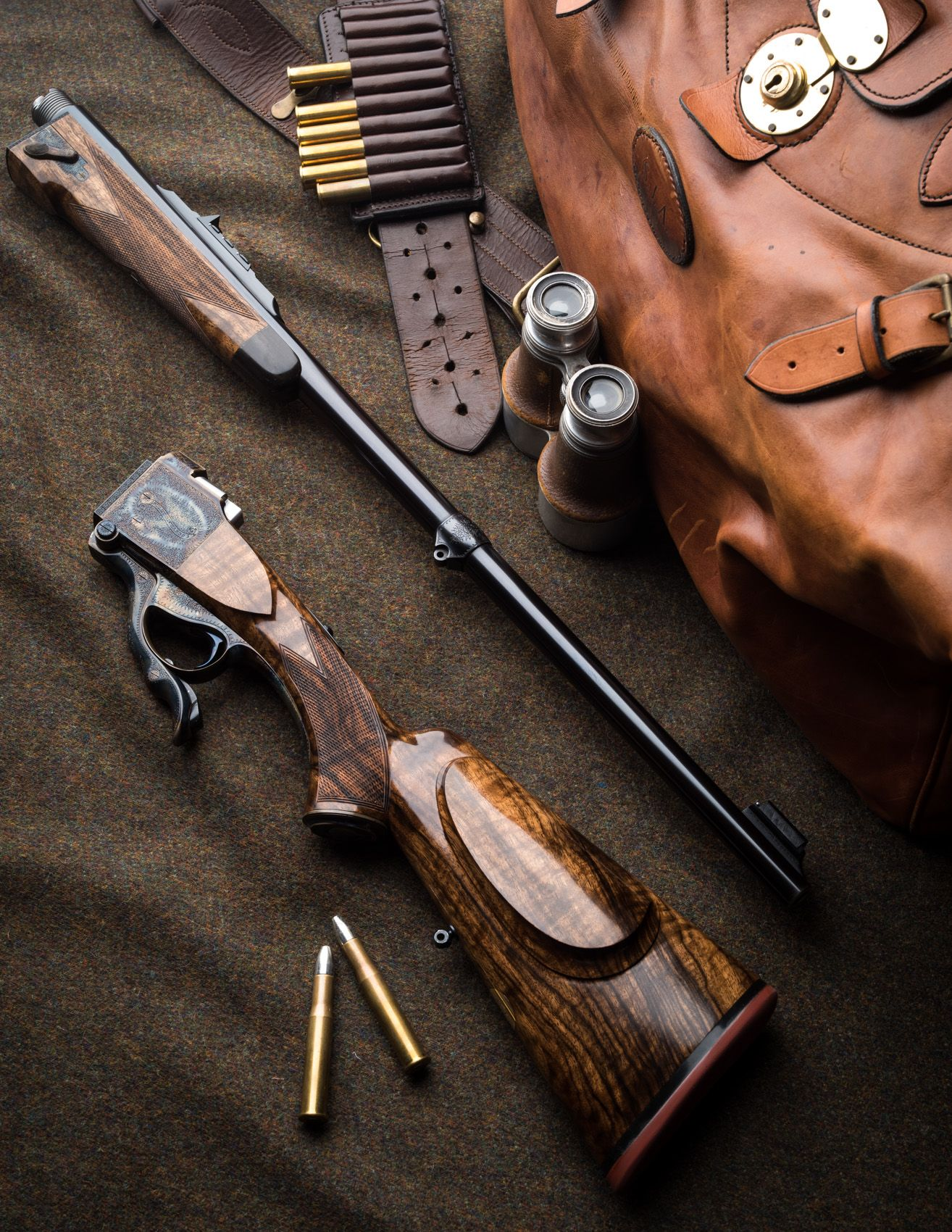 "Westley Richards Farquharson take-down single-shot rifle 450/400 3"" Nitro Express"
