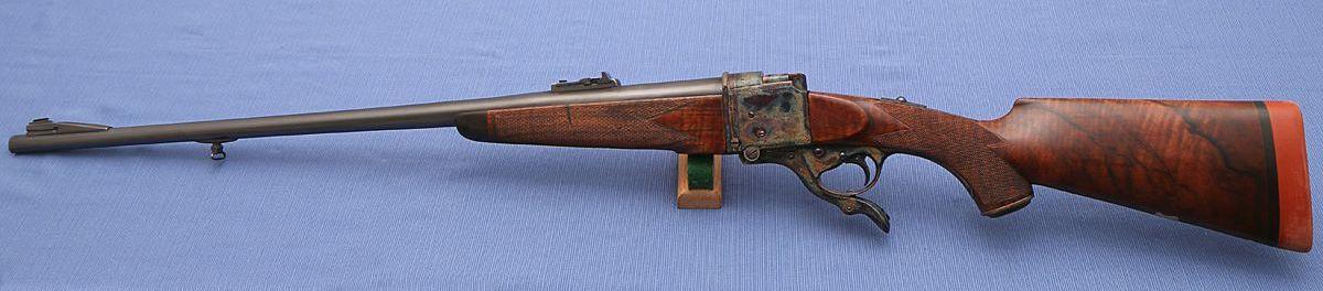 """Thomas Bland & Sons Farquharson 450/400 3¼"""" Nitro Express rifle"""
