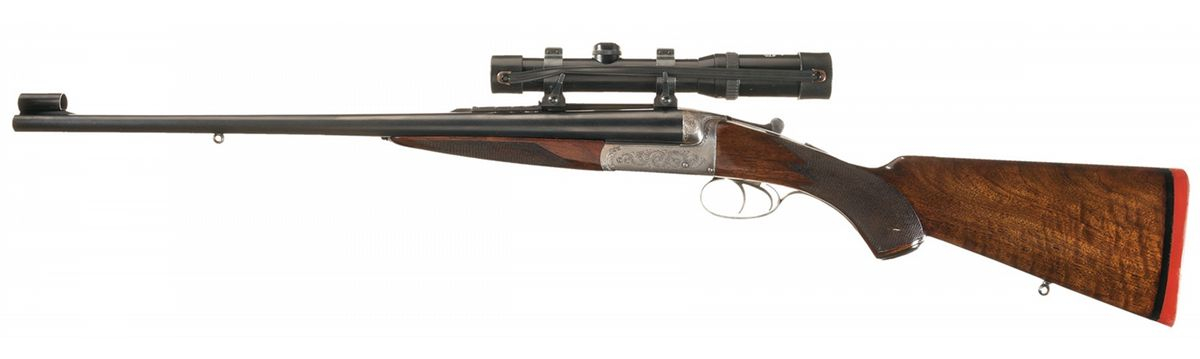 """WJ Jeffrey 450/400 3"""" double rifle"""