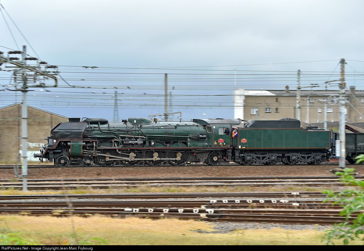 SNCF 241P.17 steam locomotive