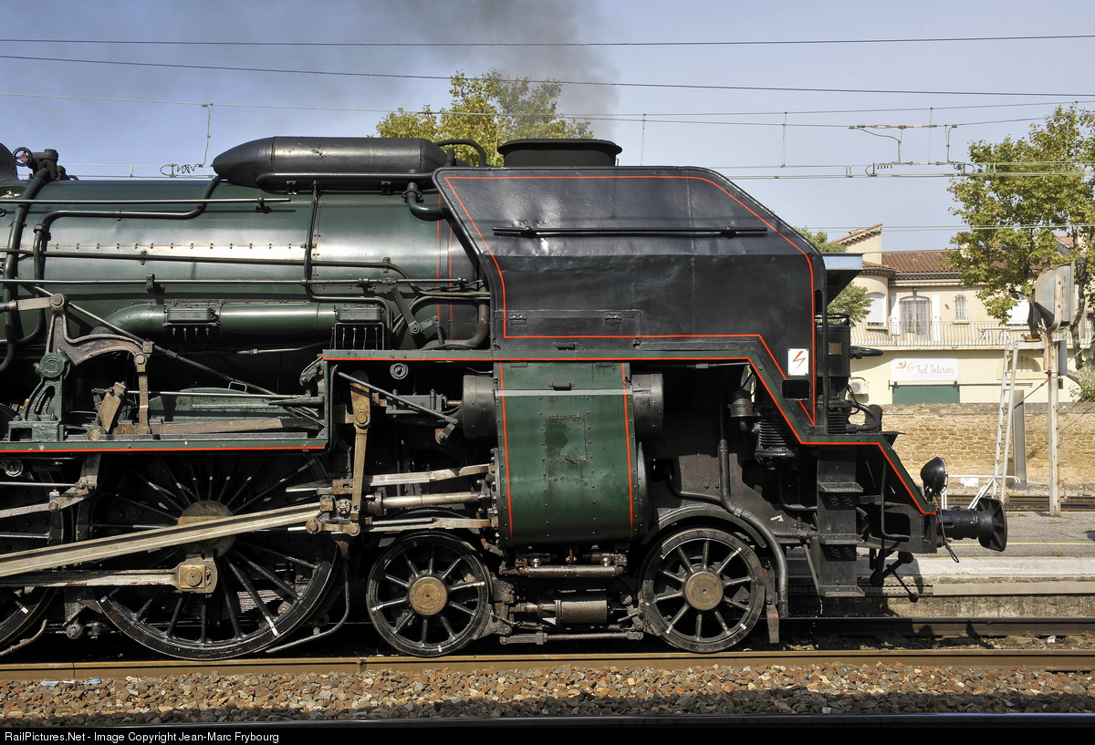 SNCF 241P steam locomotive
