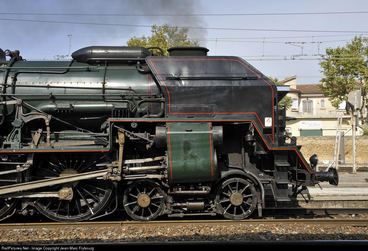 SNCF 241P steam locomotive