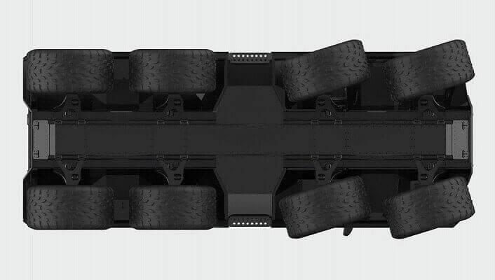 Avtoros Shaman steering option
