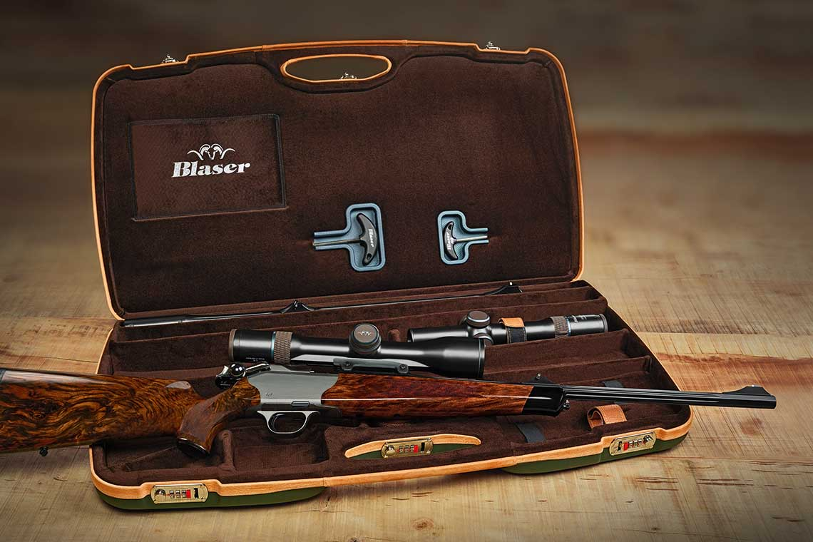 Blaser R8 rifle cased set