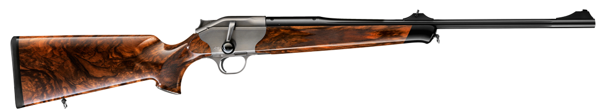 Blaser R8 Ruthenium rifle