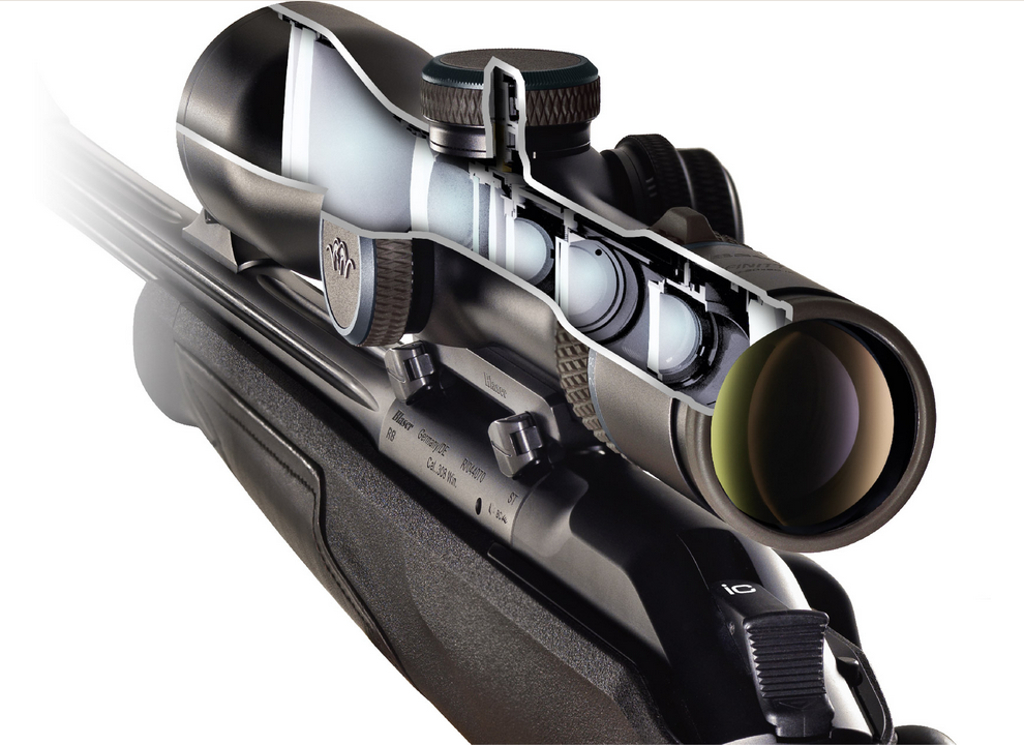 Blaser R8 riflescope Illumination Control
