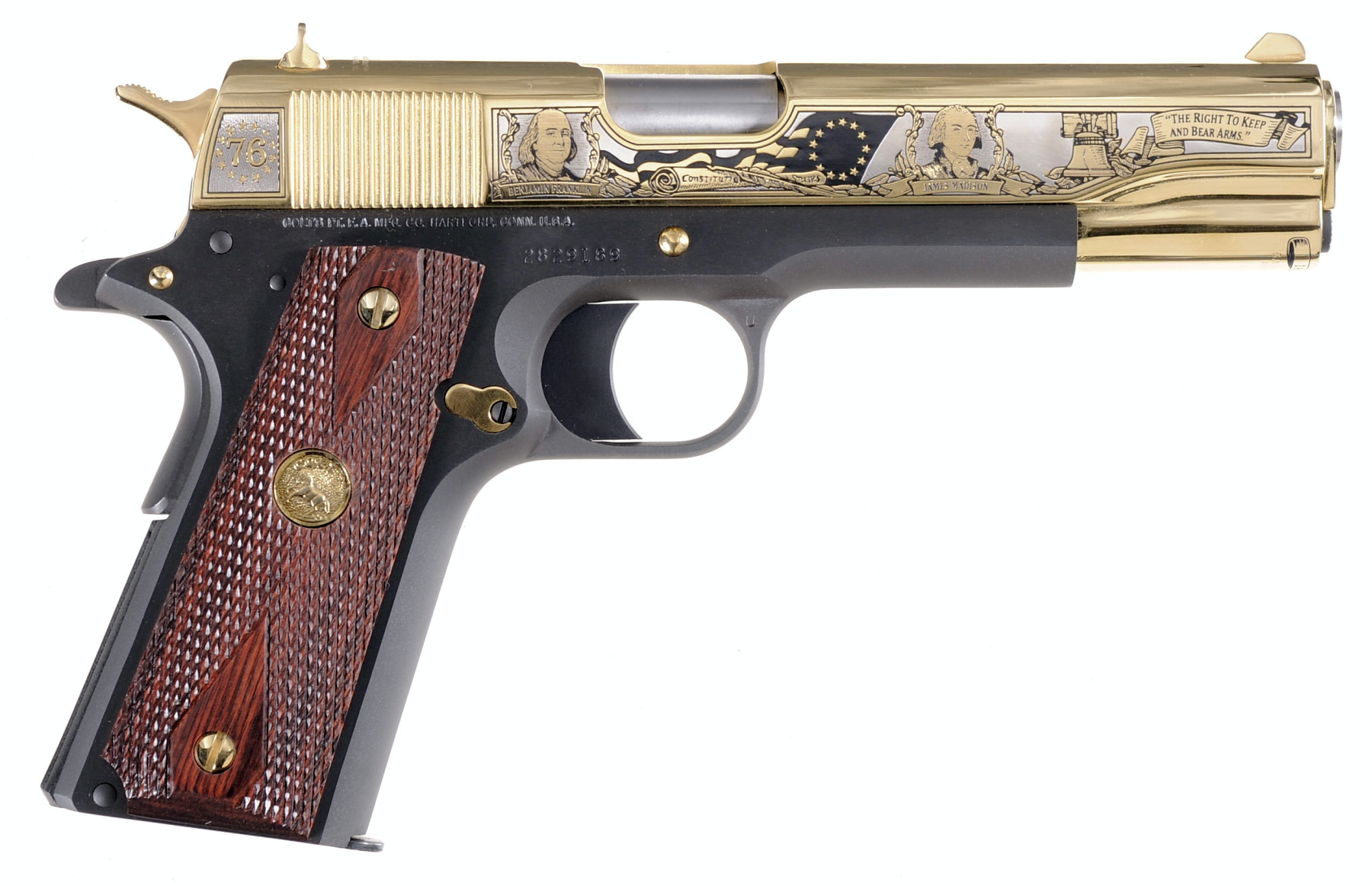 "Colt 1911 ""Founding Fathers Second Amendment Tribute"""