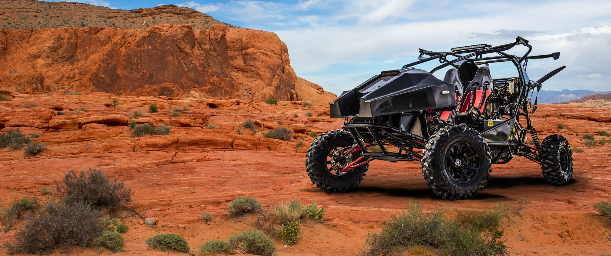 Skyrunner off-road flying buggy
