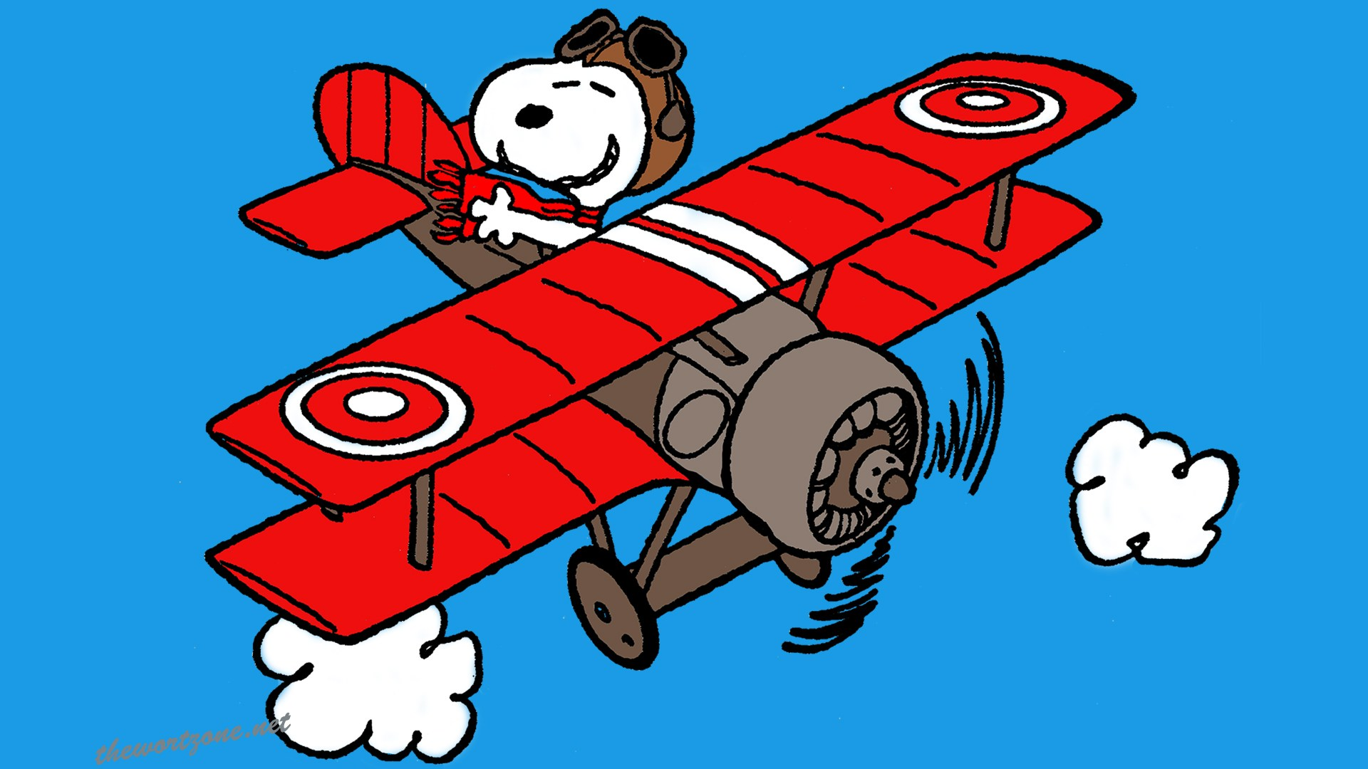 Snoopy Sopwith Camel Red Baron