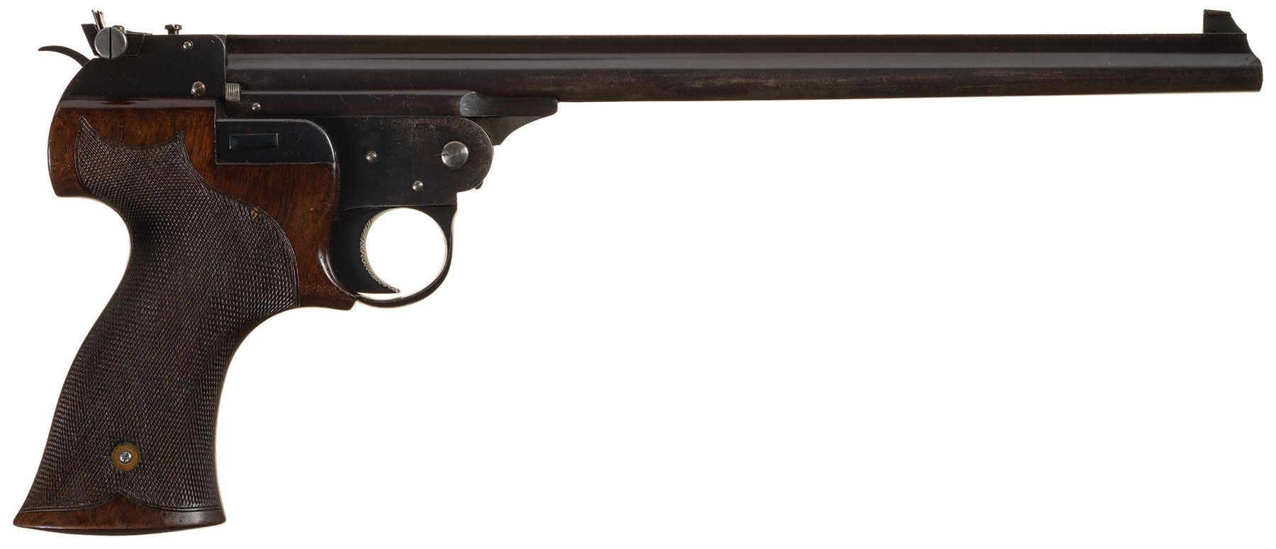 Adolph-Weber single shot target pistol