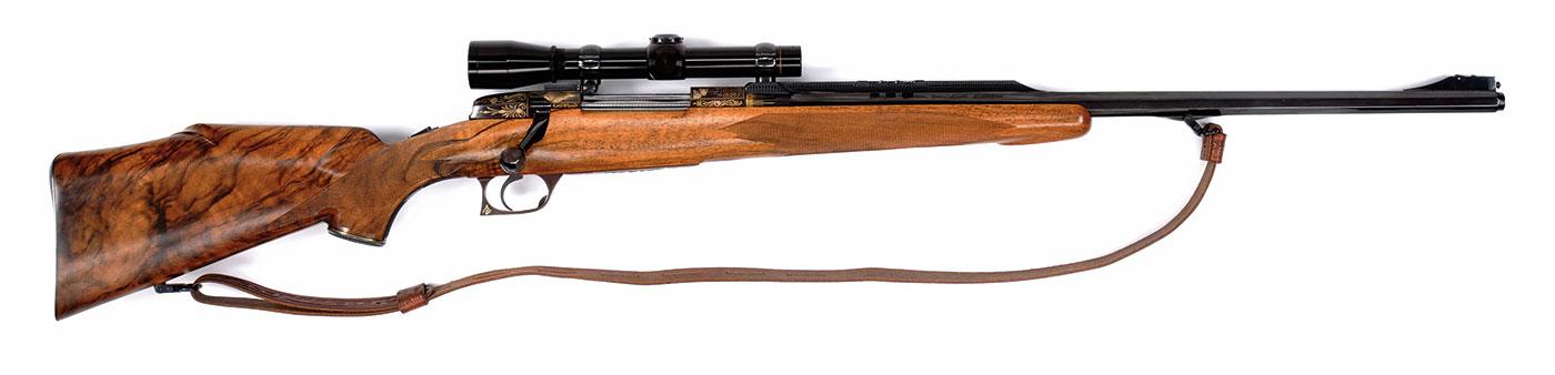 "Elmer Keith Champlin-Haskins ""Keith Grade"" .375 H&H rifle"