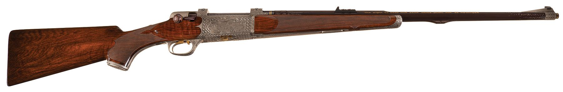 "Haskins Rifle Company ""Bicentennial"" Bolt Action Rifle"