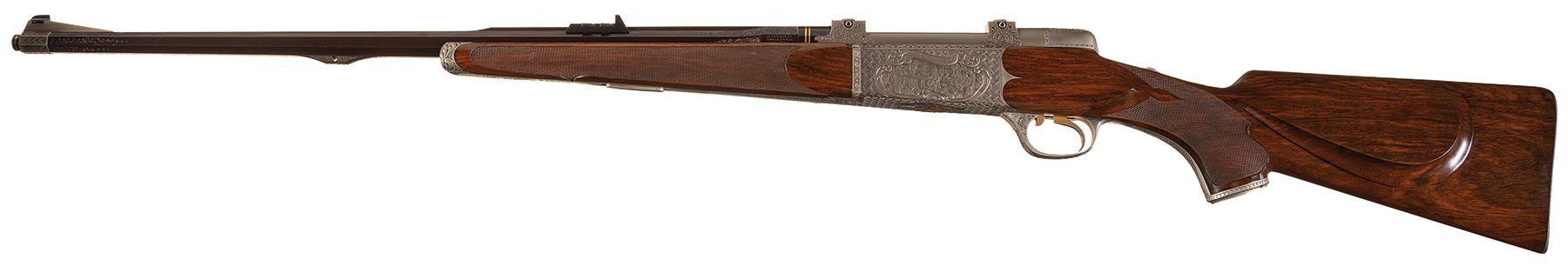 Haskins Rifle Company Bicentennial Rifle