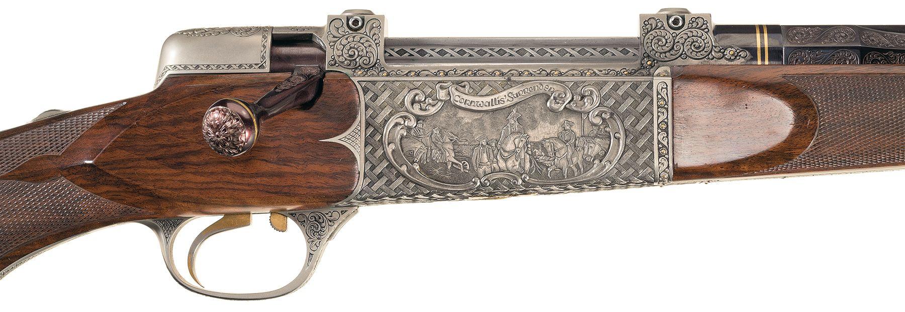 Haskins Bicentennial rifle Surrender of General Cornwallis