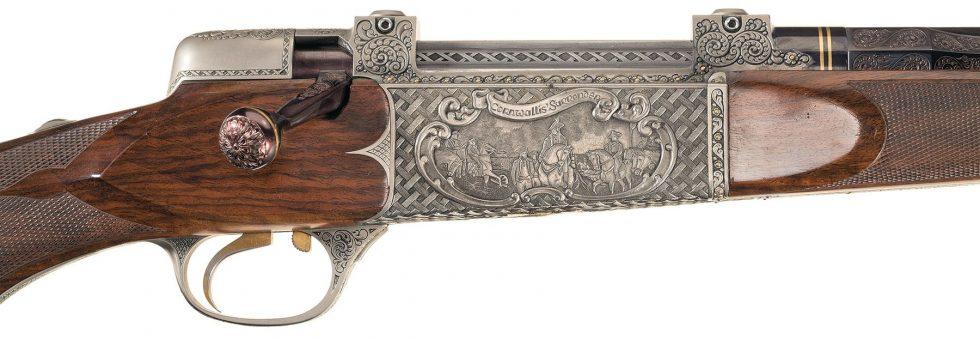 Haskins Rifle Company Bicentenial rifle