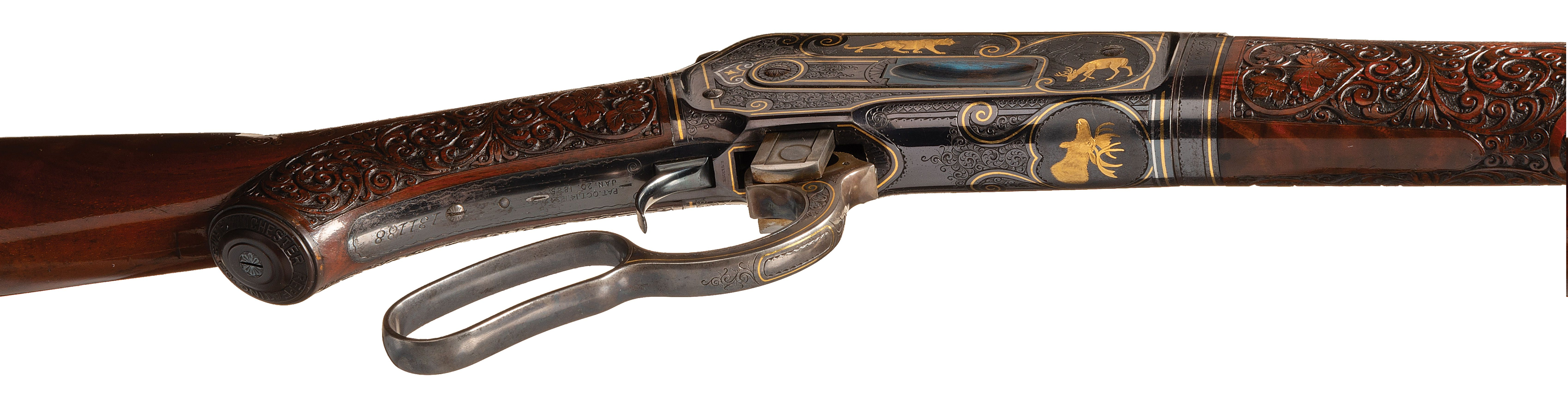 Winchester Model 1886 Ulrich engraved rifle