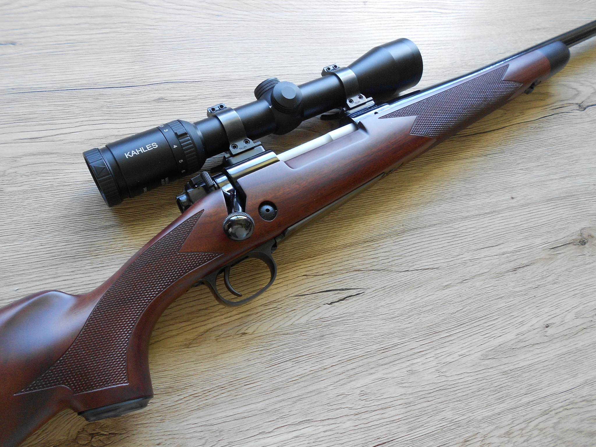 Winchester Model 70 Super Grade rifle current production.