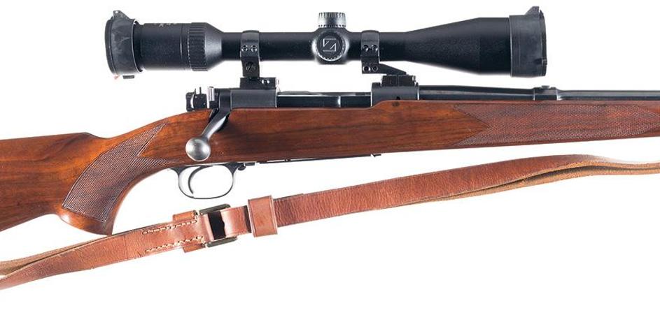 Winchester Model 70 pre-64 rifle Roger Rule