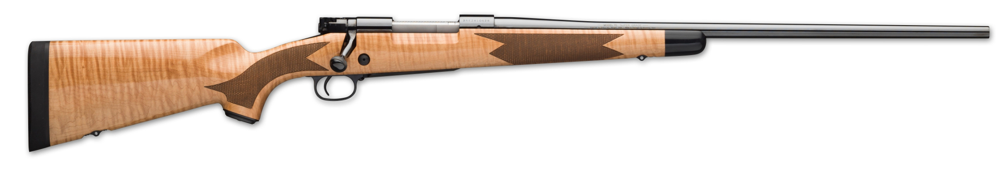 Winchester Model 70 Super Grade Maple rifle