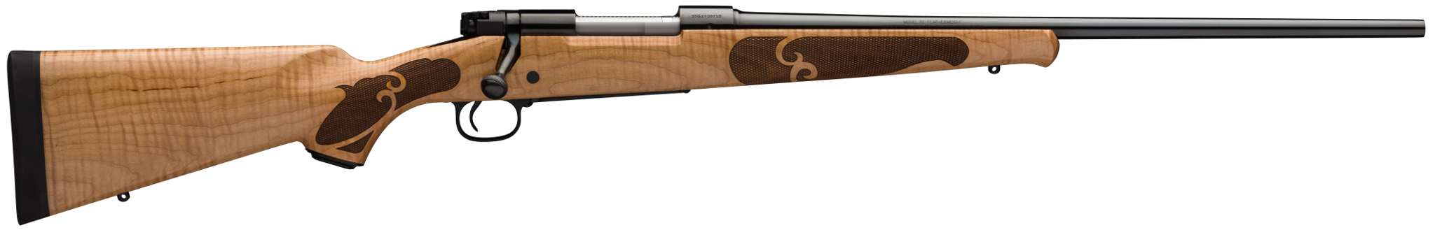 Winchester Model 70 High Grade Maple rifle