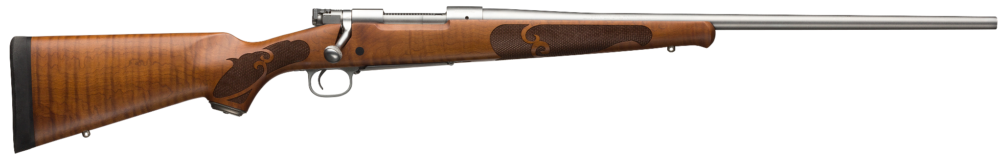 Winchester Model 70 Featherweight Dark Maple Stainless rifle