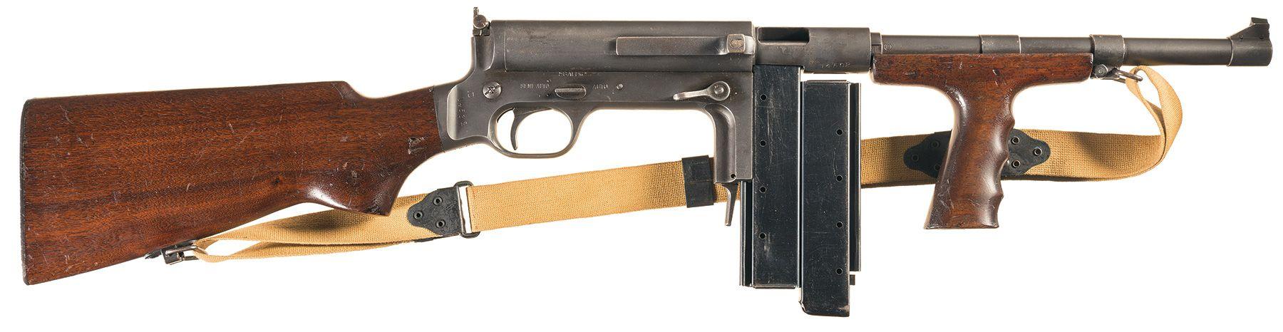 United Defense M42 Sub-Machine gun 9mm Parabellum