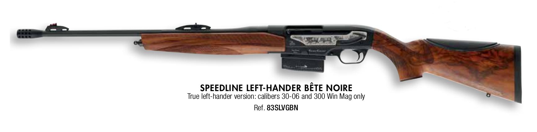 Verney-Carron Speedline Bête Noire left handed rifle