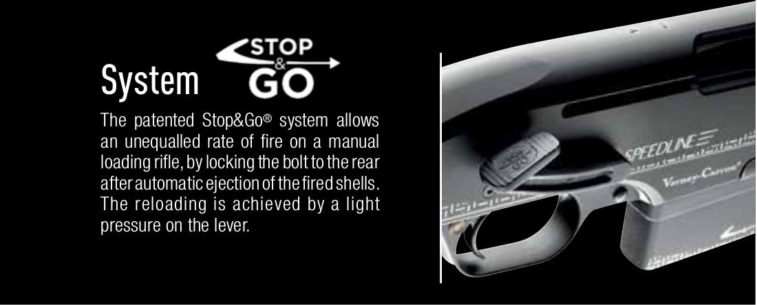 "Verney Carron Speedline ""Stop & Go"" action"