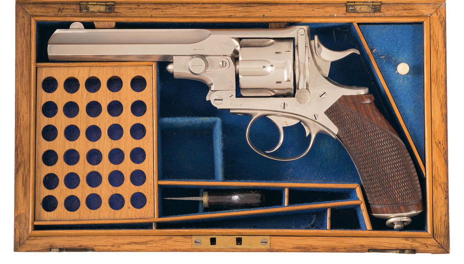 Webley-pryse Number 4 Revolver