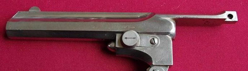 Webley-Pryse barrel and top strap