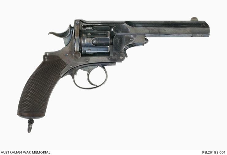 Webley-Pryse No. 4 revolver Austrlian War Memorial
