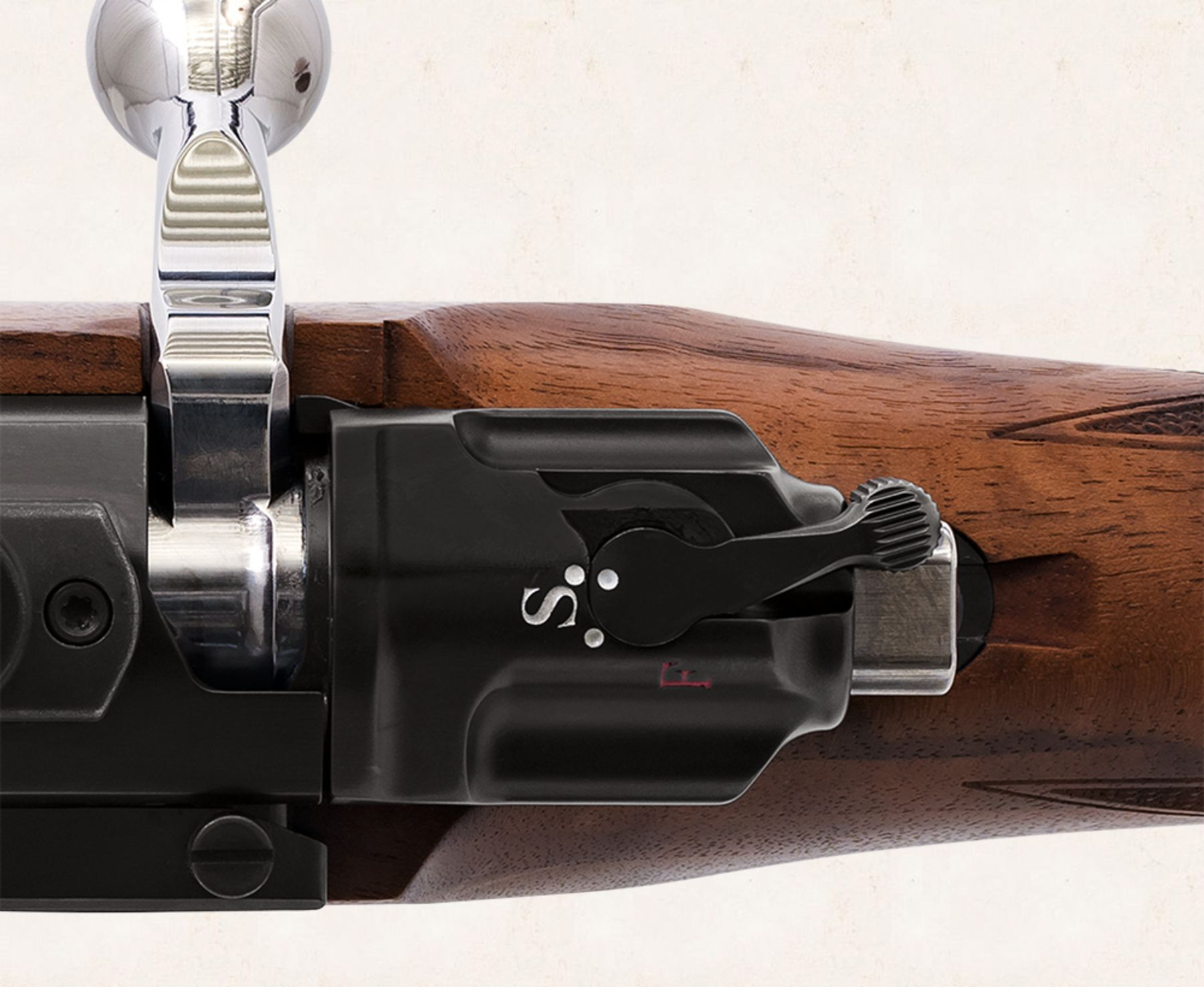 Mauser M98 Winchester Model 70 safety catch
