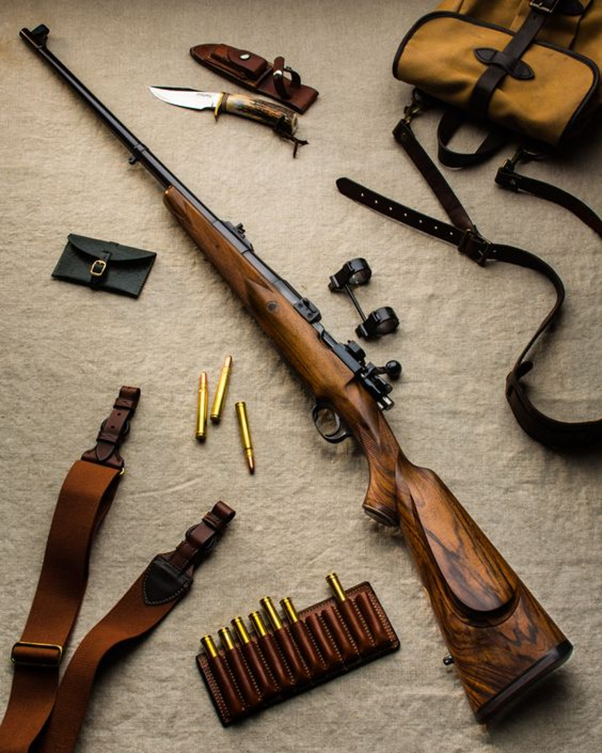 375 Holland & Holland Magnum rifle