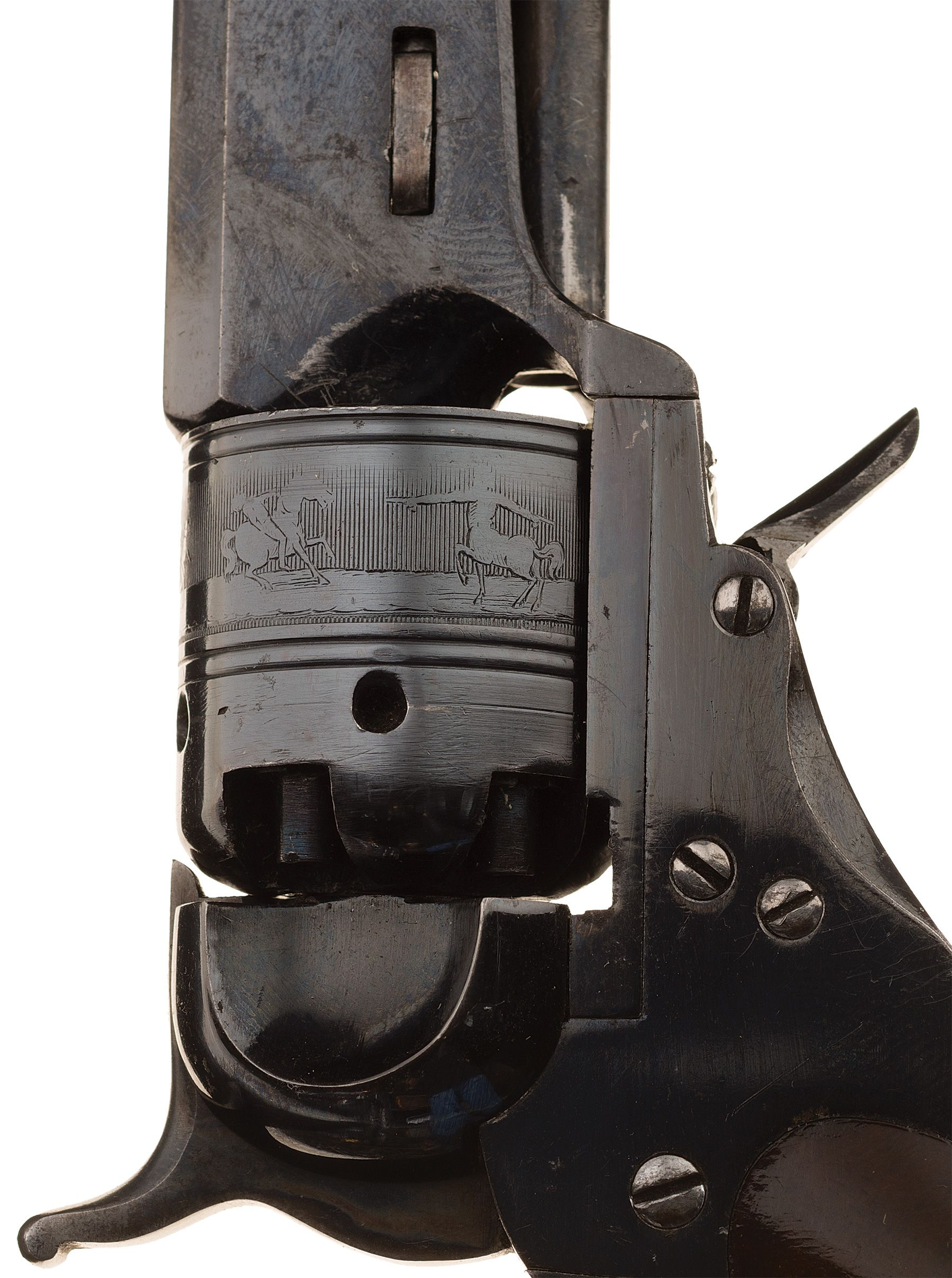 Cased Colt-Ehlers Pocket Model Paterson Revolver