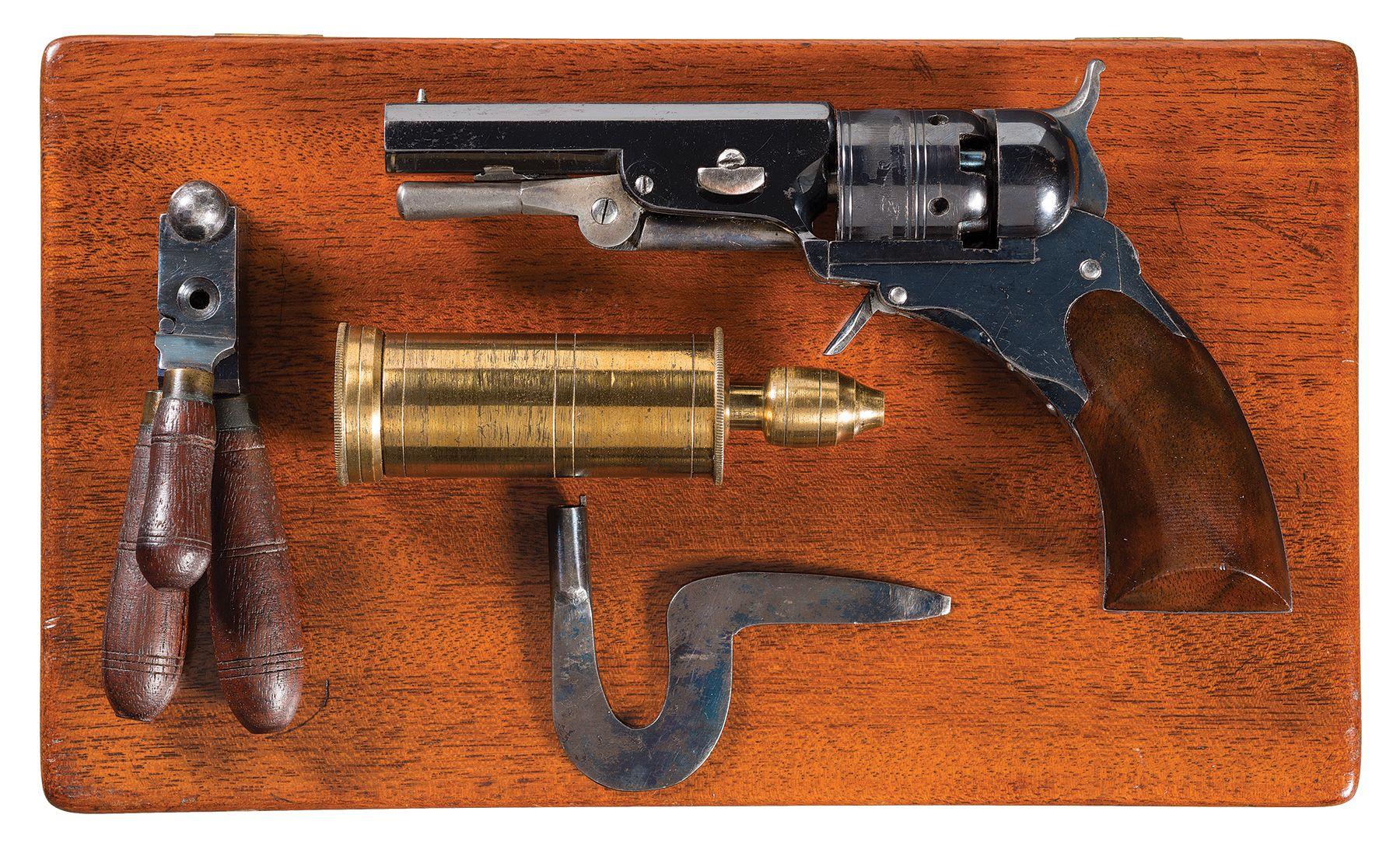 Cased Colt-Ehlers Pocket Model Paterson Revolver