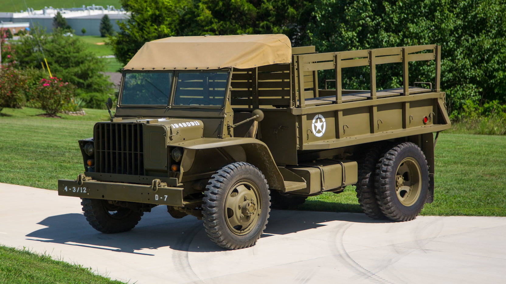 Ford Burma Jeep GTB-G622 truck