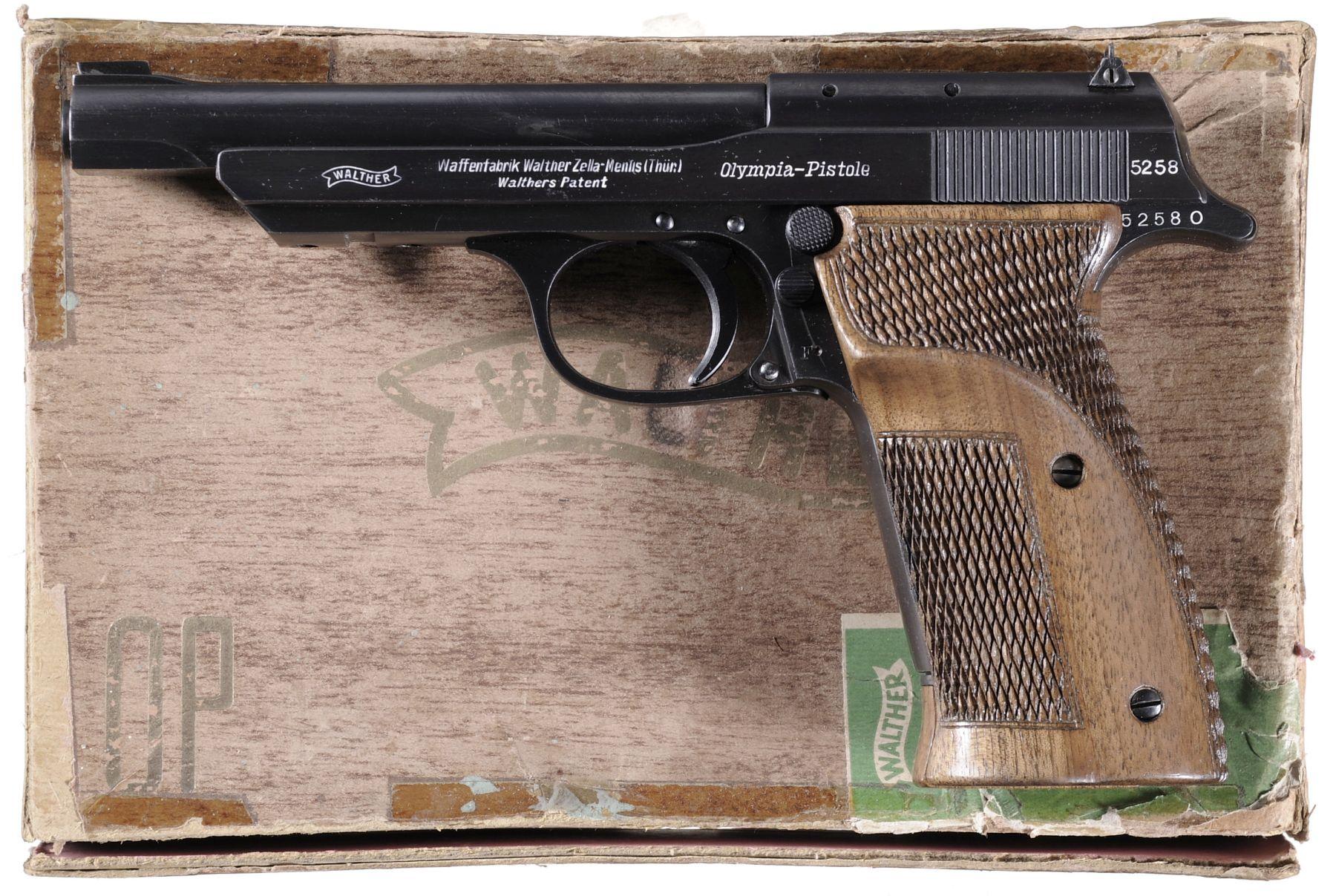 Walther Olympia Hunter's Pistol Olympia-Jäger-Pistole