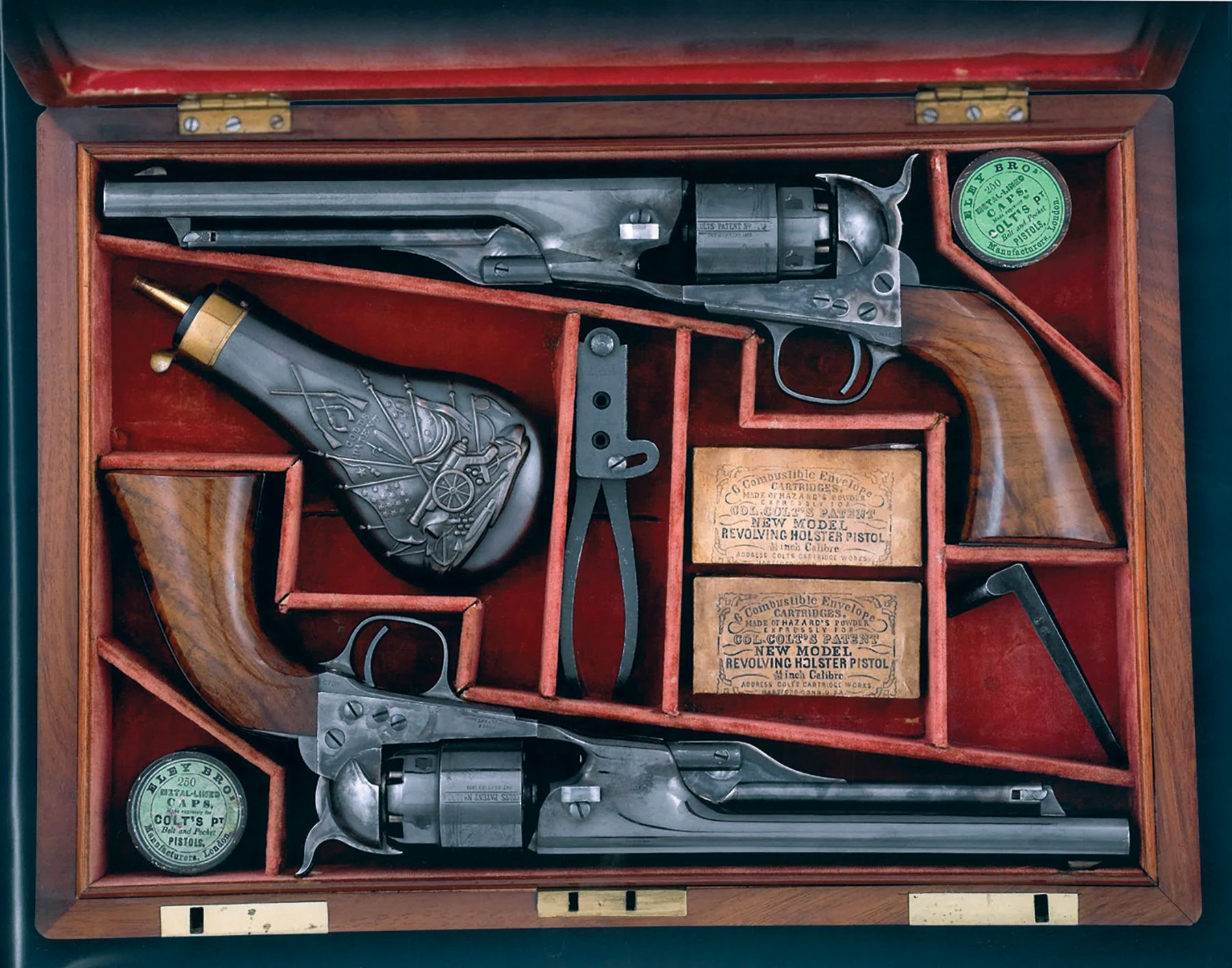 General Porter Double Cased Set of Colt Presentation Revolvers