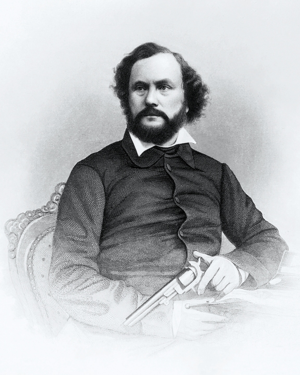 Portrait of Samuel Colt by John Chester Buttre
