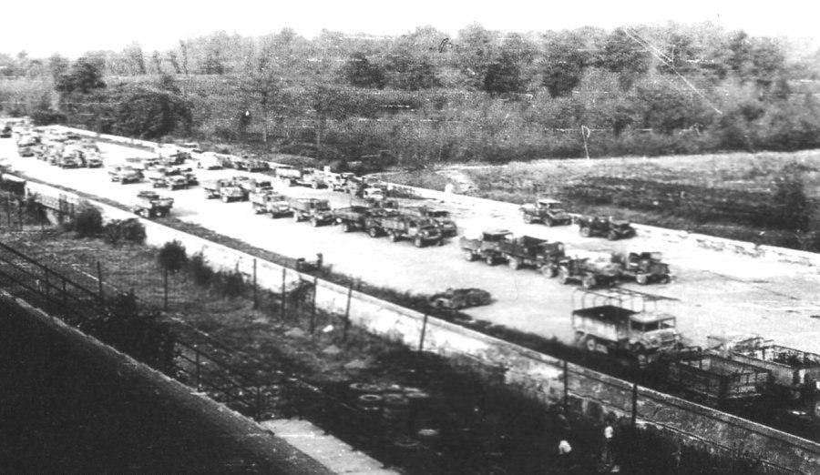 Monza Race Track ARAR army surplus